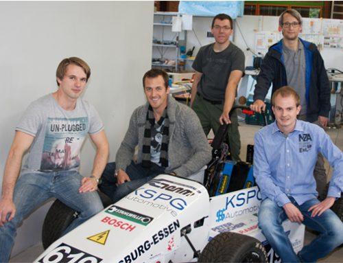 Rennfahrer Lance David Arnold übernimmt SchirmherrschaftLance David Arnold Starts Patronage