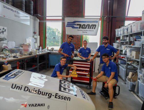 Ein brandneuer Werkzeugwagen für das E-Team